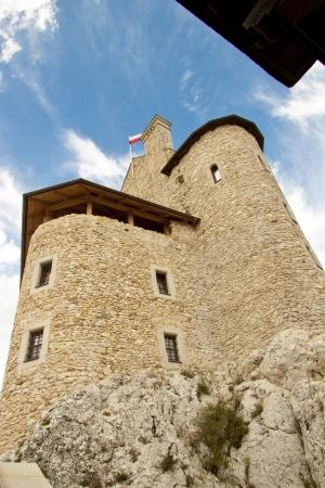 bobolice: Old castle in Bobolice village - Poland, Silesia