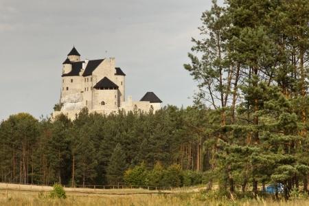 bobolice: Bobolice Castle in Silesia Region - Poland, Europe
