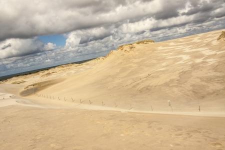Polish dunes - Leba National Park. Beauty nature.