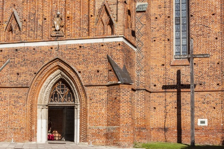Cathedral of Assumption NMP and holly Andrzej in Frombork - Poland. photo