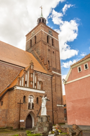 Church of Holly apostole Peter and Paul in Reszel. Stock Photo - 16303829