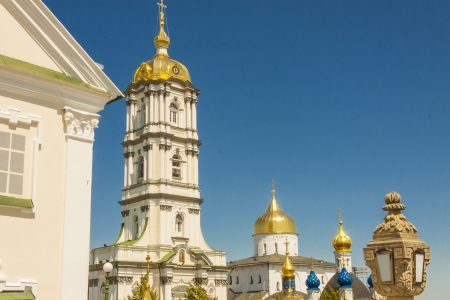 Summer day on Ukraine. Pochaiv monastery. Stock Photo - 17997864