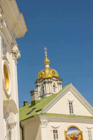 Monastery in Pochaiv - Ukraine. Blue sky summer sunny day. Stock Photo - 17997841