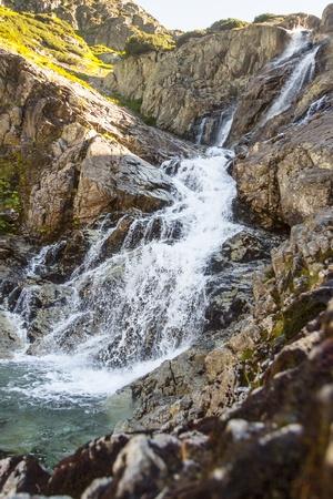Big beauty polish Tatra Mountains - Siklawa waterfall. Stock Photo - 18962423