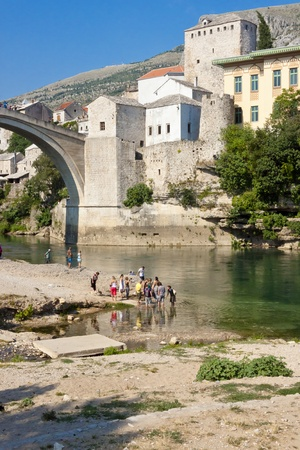 balkans: Old town of Mostar in Bosnia and Herzegovina - Balkans.