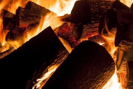 産業用ストーブ - ポーランドで木材から火します。