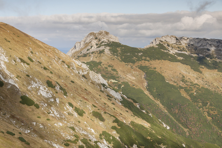 View from Kondracka Kopa to Giewont - Tatras Mountains  Polish National Park  photo
