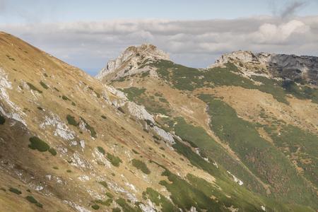 giewont: View from Kondracka Kopa to Giewont - Tatras Mountains  Polish National Park