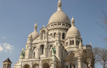 coeur: Basiliek Sacre Coeur - Parijs, Frankrijk