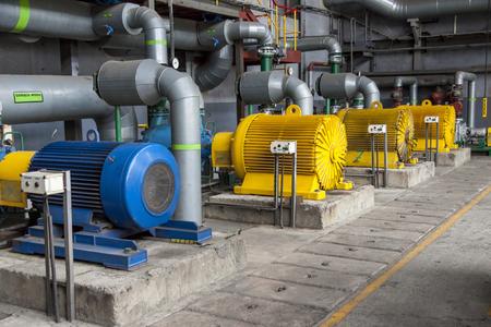 Engine room - power station.