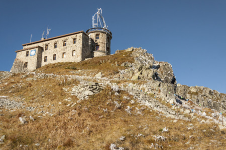 meteorological: Meteorological observatory on Kasprowy Wierch in Polish Tatras Mounatins - National Park.