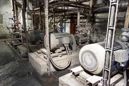 engine room: Engine room  power station, Poland.