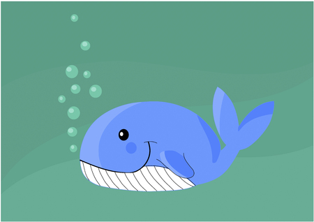 orcinus: Whale - vector illustration.