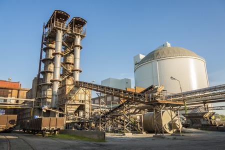 Sugar refinery.
