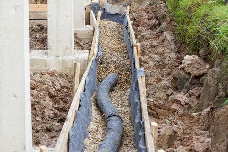 水の保護-排水 写真素材