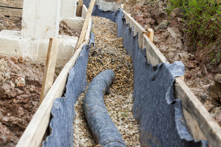 Water protection -drainage photo