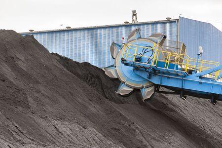 browncoal: Detail of bucket wheel excavator