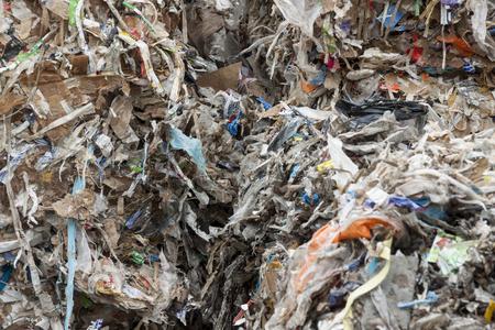 reciclaje papel: Detalle de reciclaje de papel usado.