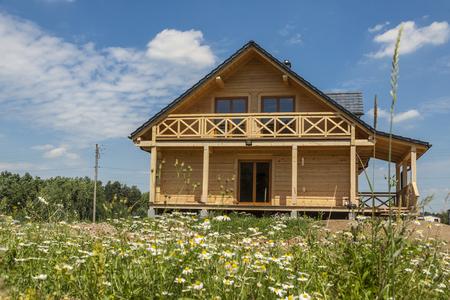 Houten huis - Polen