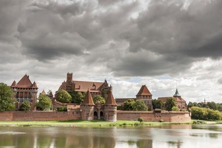 teutonic: Teutonic Knights in Malbork castle.