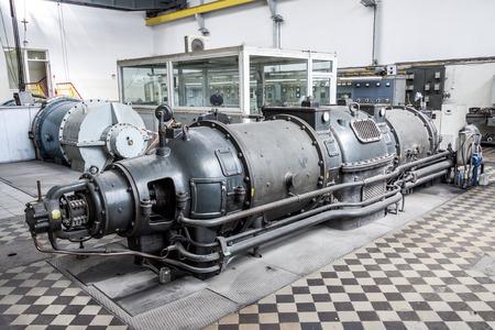 steam turbine: Old steam turbine - Poland.