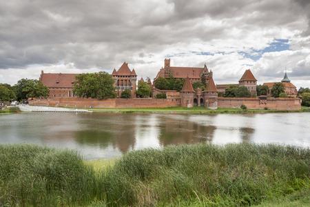 Teutonic Knights in Malbork castle.