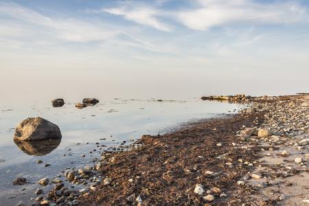 Coast in Augustenhof, Denmark, Europe.