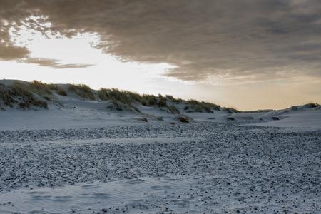 Beach next to Skagen in the northern part of Denmark.