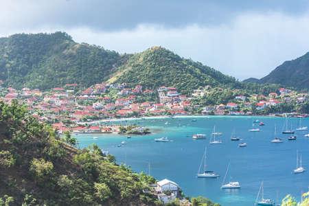 Guadeloupe, beautiful seascape of the Saintes islands