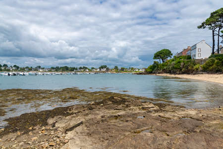 Port Navalo in Brittany, beautiful village at the entrance of the Morbihan gulf