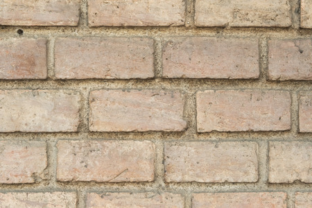 Old gray brick wall texture background