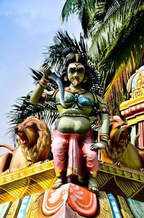 Magnificent sculptures on Tamil religious temples