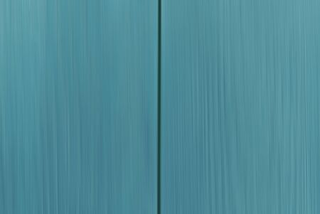 Colourful backplate of blue-green wooden planks, copy space