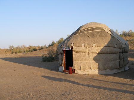 uzbekistan: Yurt in Uzbekistan