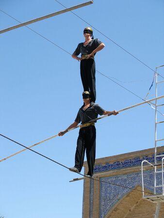 acrobatic: Acrobats