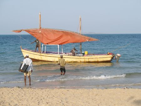 Mozambican dhow
