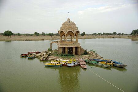 Lake in Jaisalmer, Rajasthan