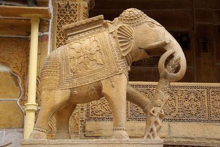 Elephant in Jaisalmer
