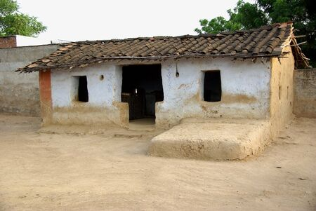 House in a village, Rajasthan Stock Photo - 3954492