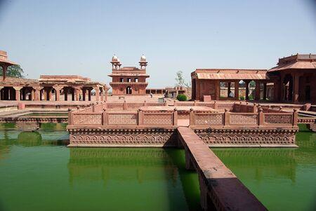 fatehpur sikri: Fatehpur Sikri, Rajasthan Stock Photo
