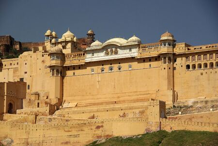 amber fort: Fort of Amber, Rajasthan Stock Photo