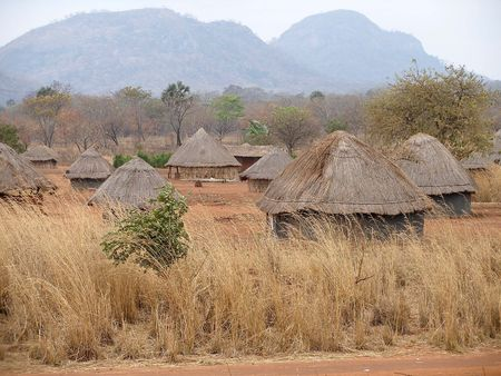 African village in Mozambique