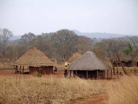 African village in Mozambique