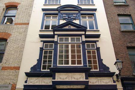 Old building in Dublin, Ireland photo