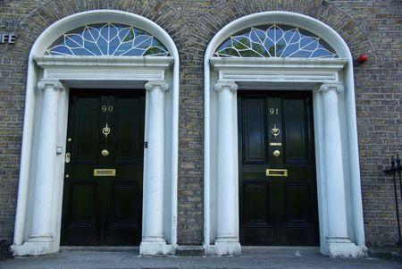 Doors in Dublin, Ireland photo