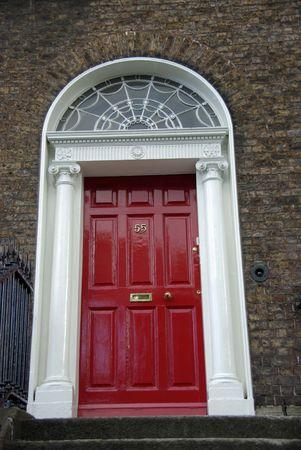 Door in Dublin, Ireland photo