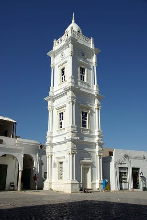 Clock tower in Tripoli, Libya