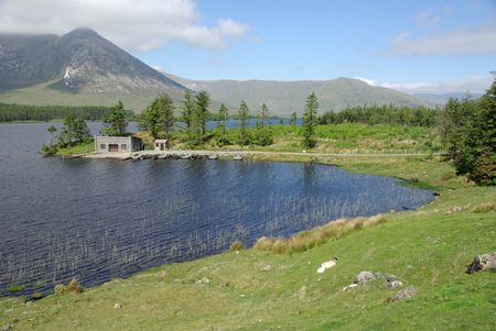 Landscape in Ireland photo