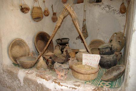 libya: Berber granary, Libya
