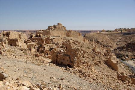 libya: Berber ruins in Libya Stock Photo